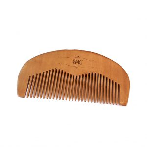 Sniff My Chin Cherry Wood Moustache Comb